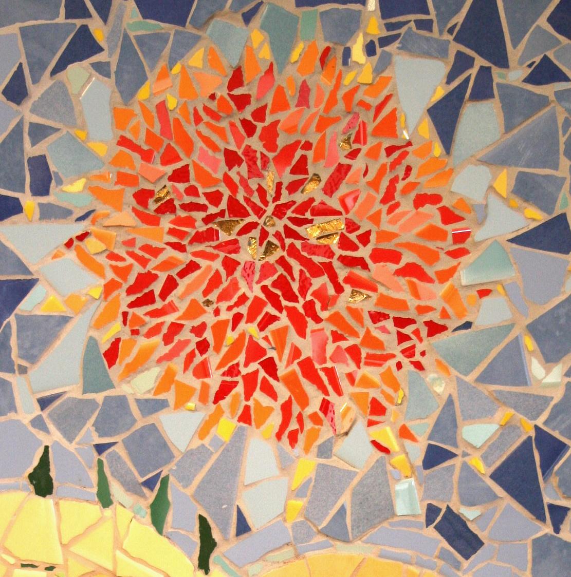 ART – MOSAICs – mosaic and felt
